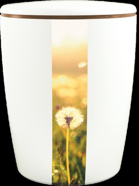 Solid-Line Pusteblume weiß