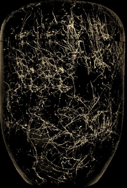 Uniqe-Line Goldfäden schwarz